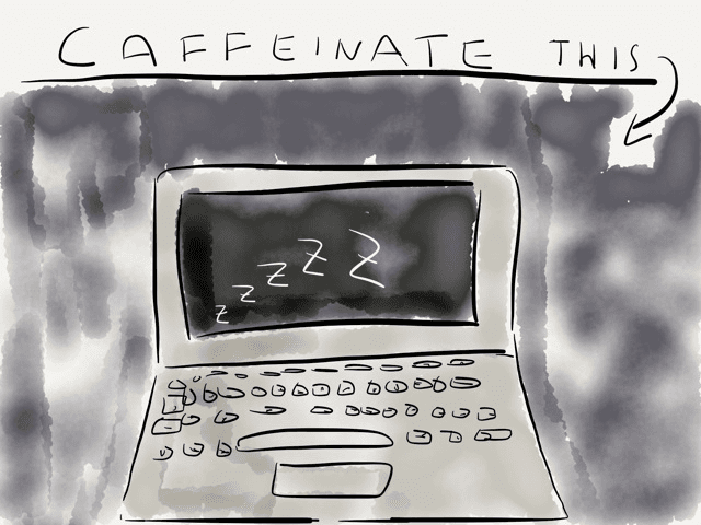 Sleep deprivation for your #Mac #mac #osx → via @_patrickwelker