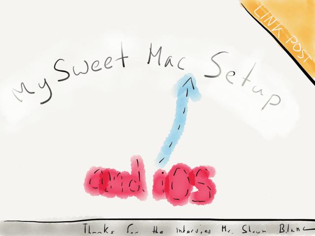 LINK - Sweet Mac Setup - Patrick Welker → via @_patrickwelker