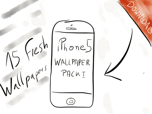 iPhone 5 Wallpaper Pack → via @_patrickwelker