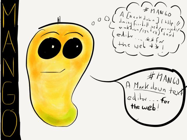 LINK – Mango — a new Markdown editor web app → via @_patrickwelker