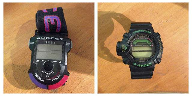 Avocet Vertech and G-Shock