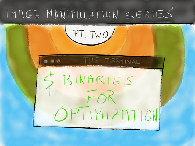 Image Manipulation Series - Binaries For Optimization → via @_patrickwelker