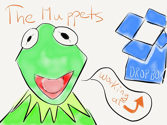 Dropbox, The Muppets And Attention To Detail → via @_patrickwelker