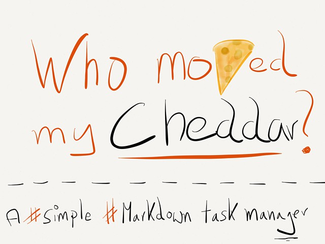Markdown Task Manager Cheddar Goes Free - Cheddar, the task list manager with Markdown support is now free and under new ownership. → via @_patrickwelker
