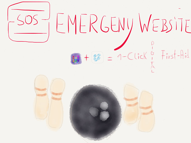 1-Click SOS Emergency Website Workflow → via @_patrickwelker