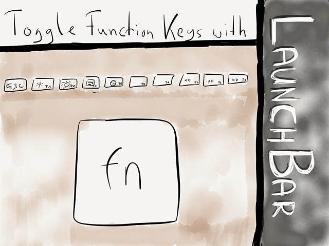 Toggle Function Keys With LaunchBar → via @_patrickwelker